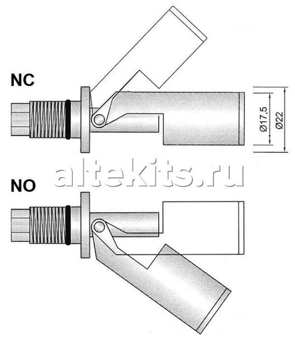 Набор поплавкового реле для посудомоечных машин Winterhalter, 5528255 (2)